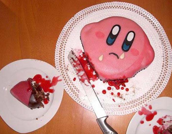 (Fonte: Cakes with threatening auras/Reprodução)