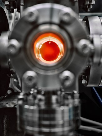 What is obtained in the particle accelerator is captured on a red-hot graphite disk; finding the moscow is like looking for a needle in a haystack.