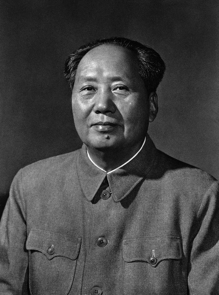 Mao Tsé-Tung. (Fonte: Pinterest/Reprodução)