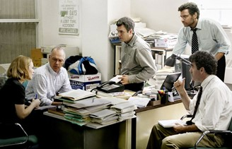 Spotlight: cast is mostly white, but cinematographer is Japanese