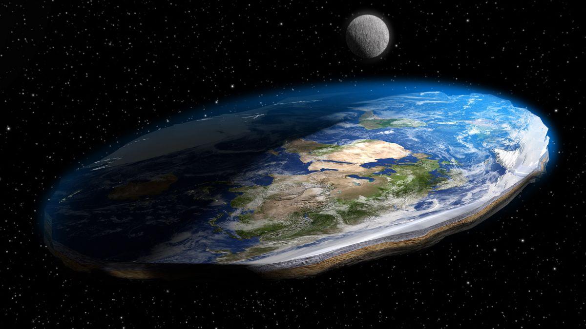 As voltas que a terra plana dá... (Fonte: LiveScience/Reprodução)
