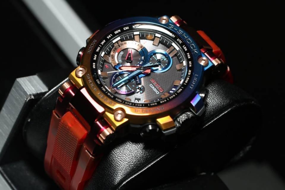 Casio lança relógio G-Shock retrô inspirado em relâmpagos vulcânicos