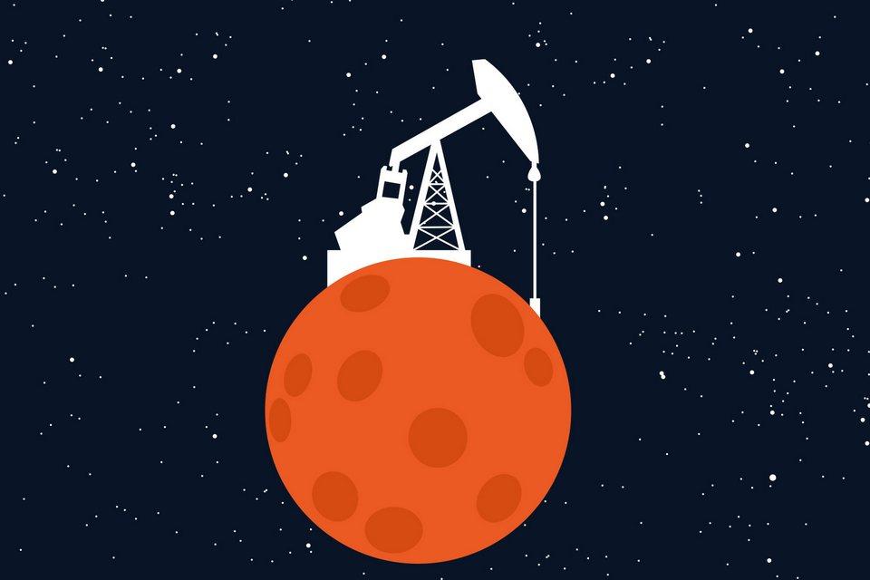 NASA vai contratar empresas interessadas em minerar a Lua
