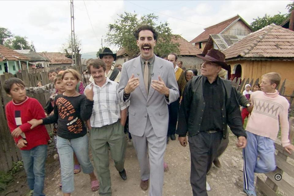 Borat 2: sequência abordará relação entre Trump e Epstein
