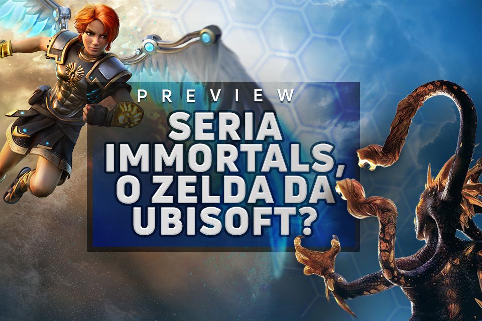 Confiram nossas primeiras Impressões de Immortals Fenyx Rising da Ubisoft