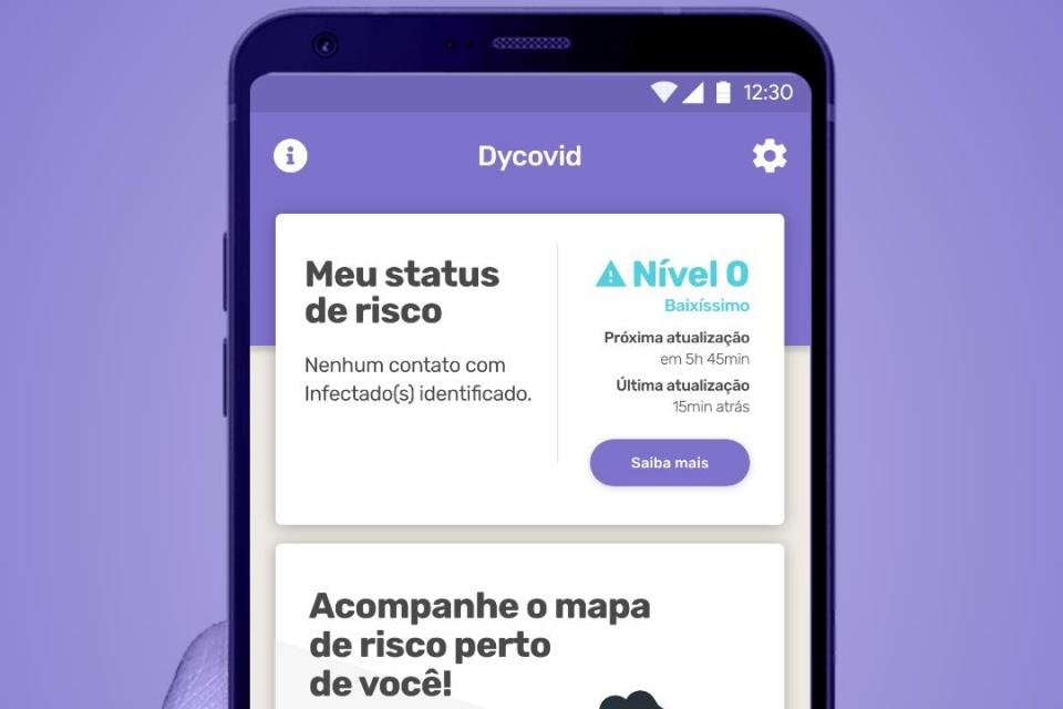 App usa recursos do celular para prever contágio por covid-19