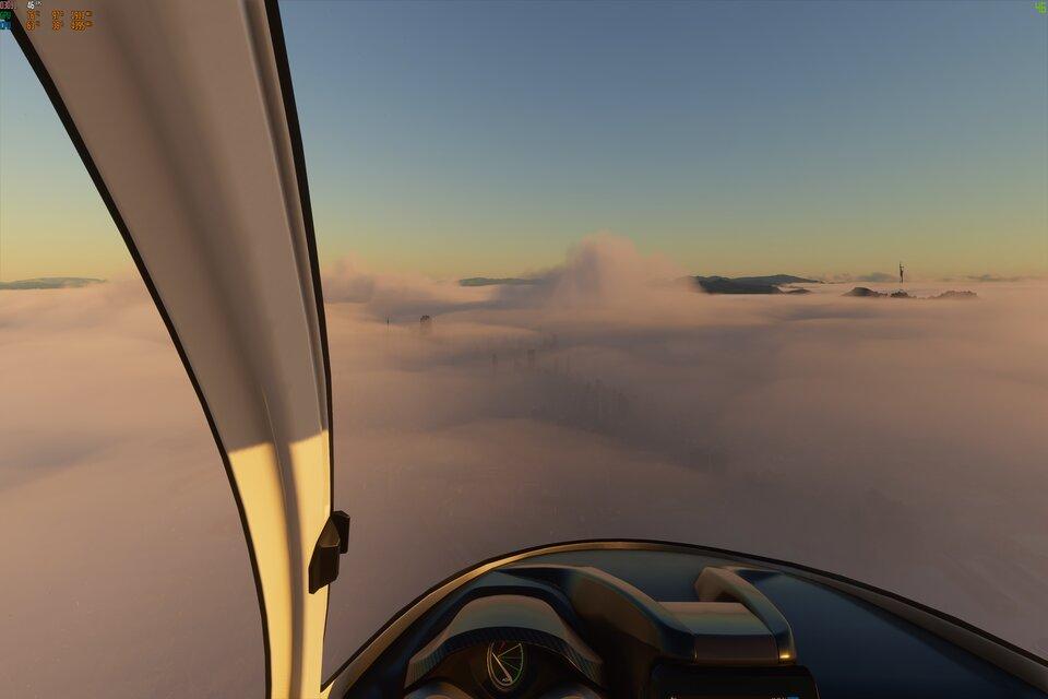 Microsoft Flight Simulator: jogo inclui Incêndios florestais nos EUA