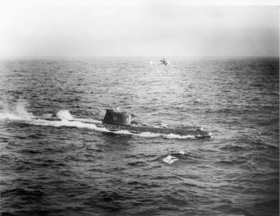 Submarino B-59. (Fonte: Il Post/Reprodução)