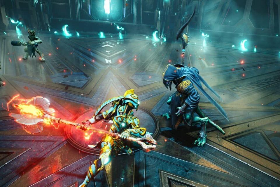 Godfall ganha trailer em 4K com gameplay focado no combate