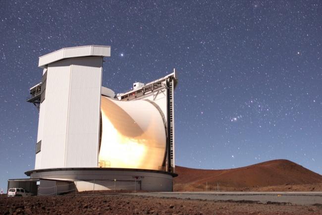O telescópio James Clerk Maxwell foi usado na descoberta.