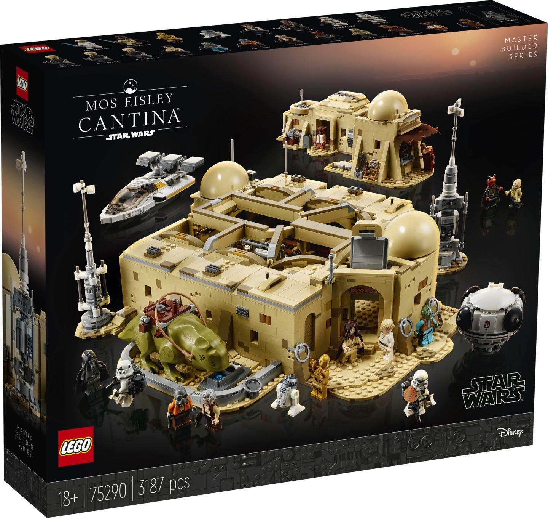 O conjunto tem mais de 3 mil peças! (Fonte: LEGO/Divulgação)