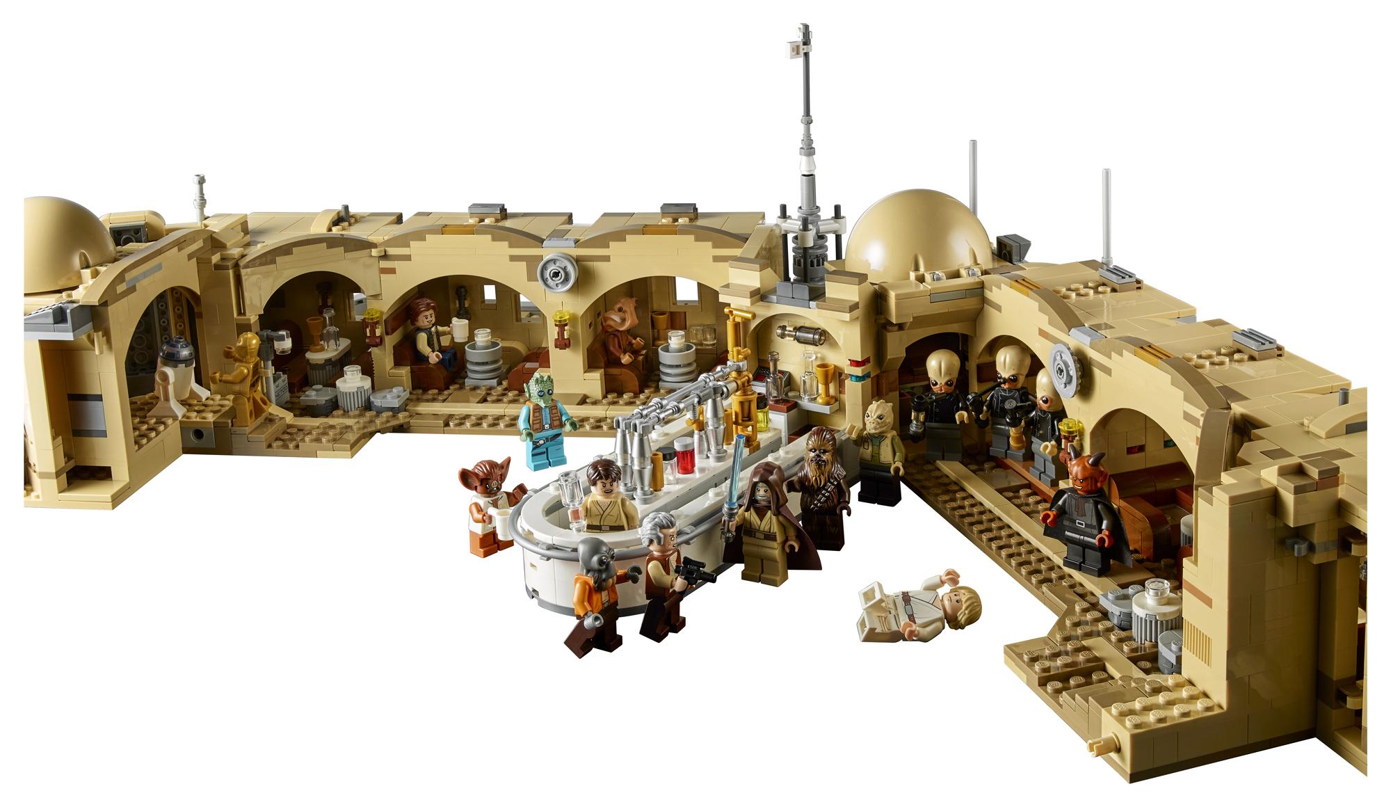 ...e também seu interior. (Fonte: LEGO/Divulgação)
