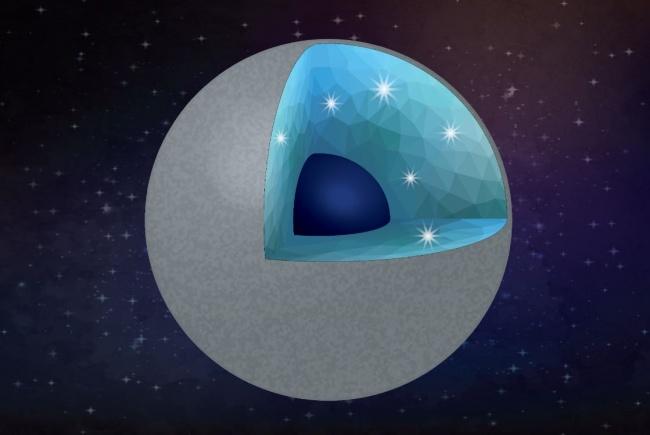 Diamante e sílica podem estar presente em grandes quantidades nos planetas ricos em carbono.