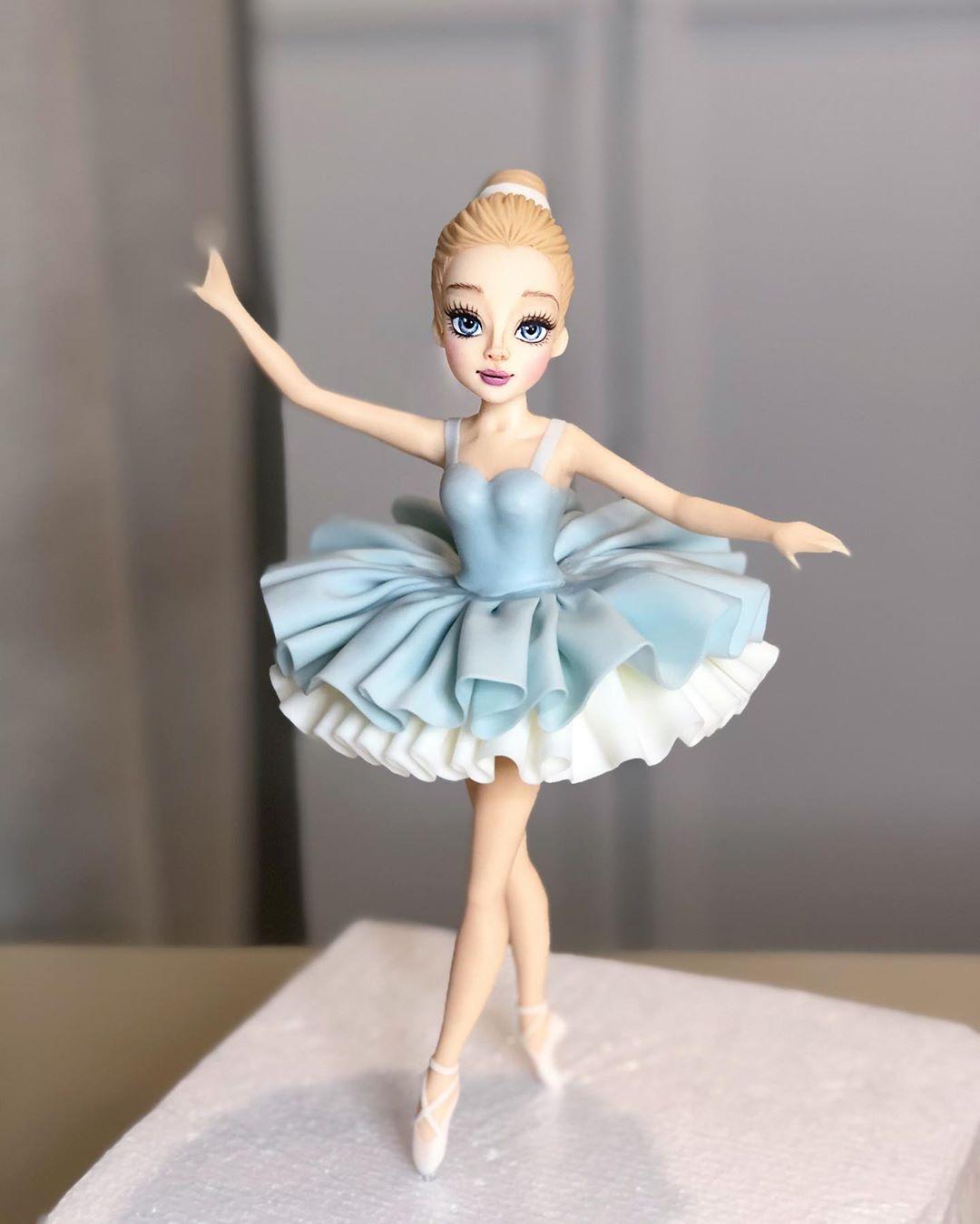 Mais uma amostra de atenção aos detalhes: até os franzidos do tutu da bailarina são super bem feitos! (Fonte: Instagram/Reprodução)