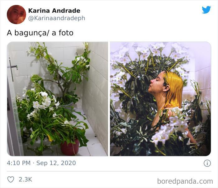 (Fonte: Twitter - Karina Andrade/Reprodução)