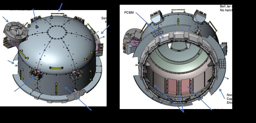 Configuração da airlock Bishop. (Fonte: Nanoracks / Divulgação)
