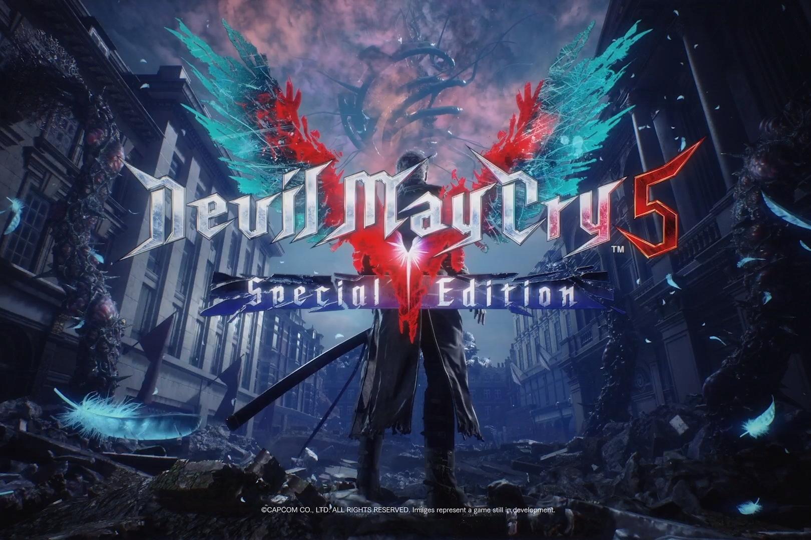 Capcom anuncia Devil May Cry 5 Special Edition, que terá Virgil jogável