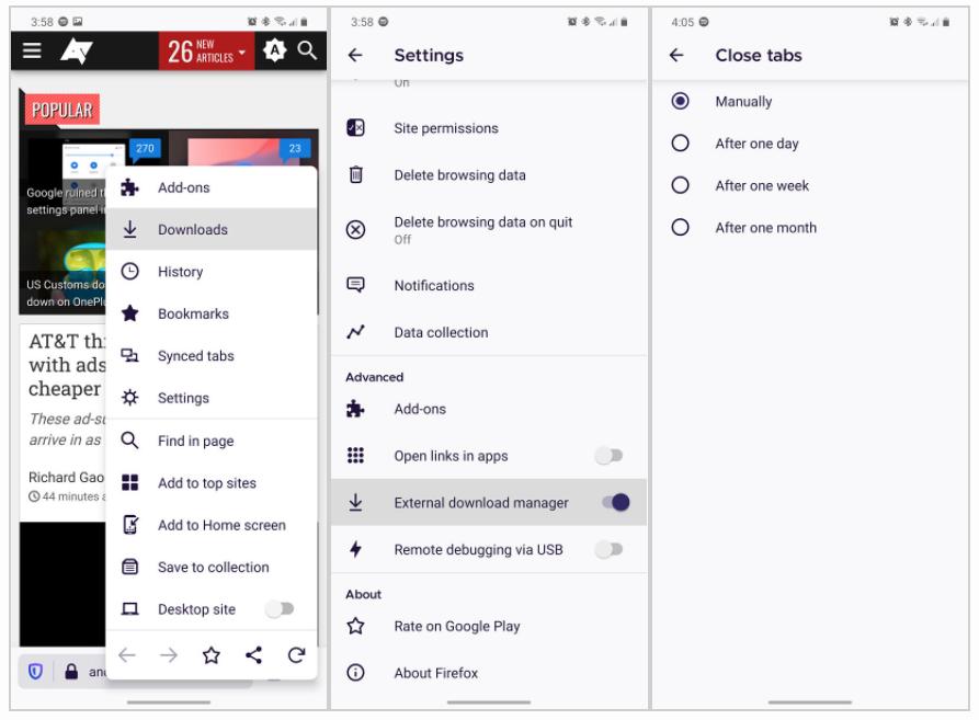 Volta de recursos e implementação de novidades fazem parte do Firefox 81 para Android.