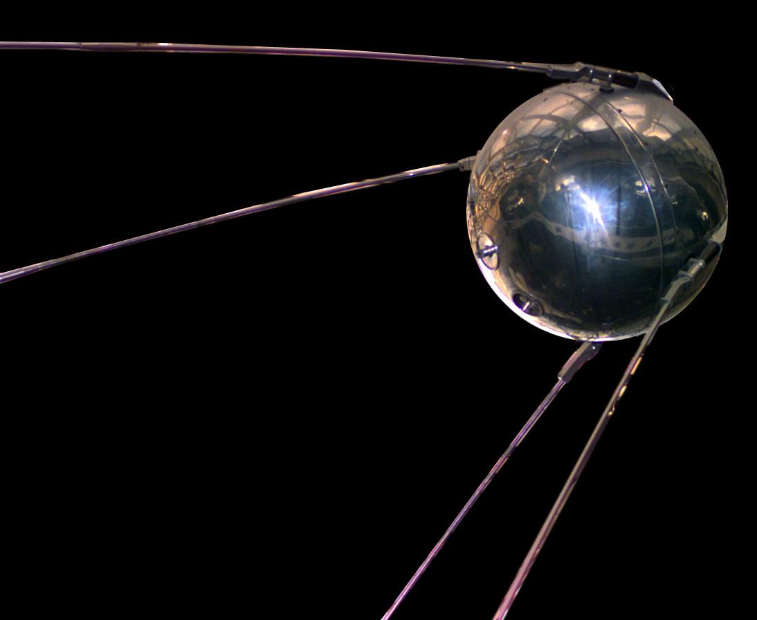 O Sputnik 1 foi o primeiro satélite artificial do mundo (Fonte: Wikimedia Commons)