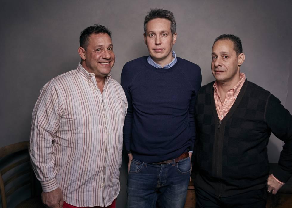 David Kellman, o diretor Tim Wardle, e Bobby Shafran. (Fonte: Ladbible/Reprodução)