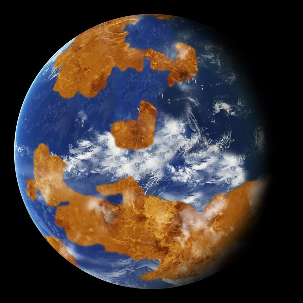 Segundo o estudo da NASA, as nuvens de tempestade poderiam ter protegido a antiga Vênus da forte luz do sol e tornado o planeta habitável.