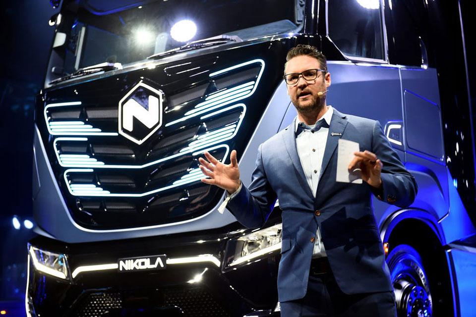 Caminhões elétricos: fundador deixa Nikola após acusação de fraude