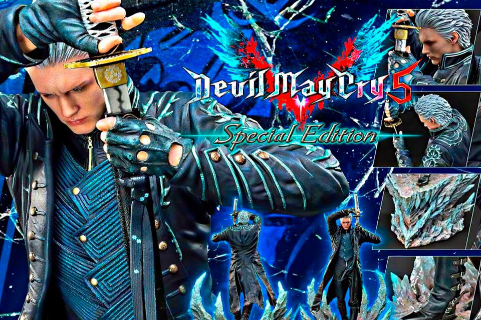 Devil May Cry 5 Special Edition não chegará para PC