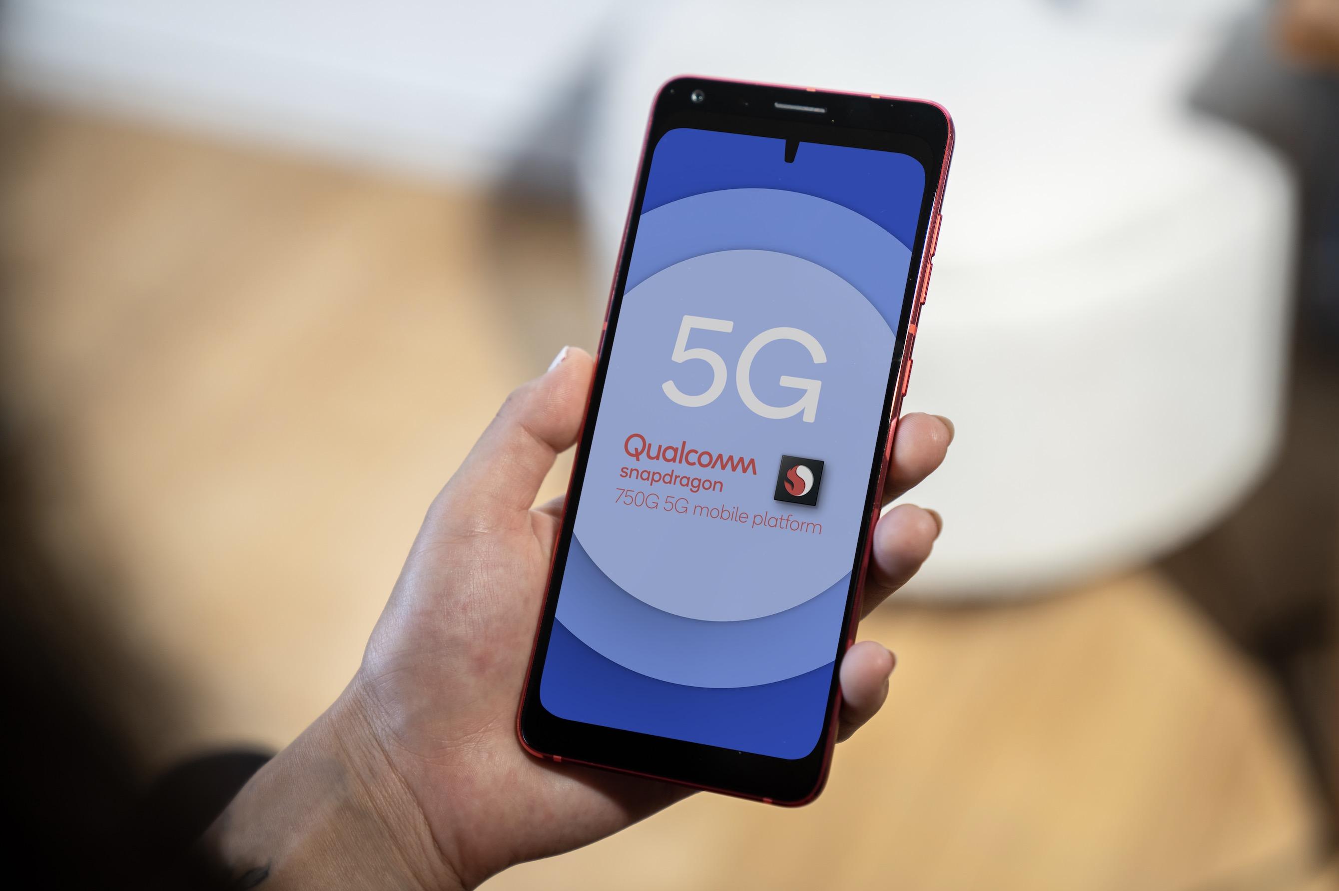 Qualcomm Snapdragon 750G é lançado para jogos com HDR e 5G mmWave