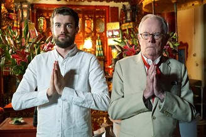 Jack Whitehall: Travels with My Father retorna com 4ª temporada na Netflix. (Reprodução)