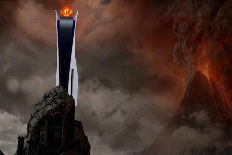 PS5: será que o console monstro cabe na estante?