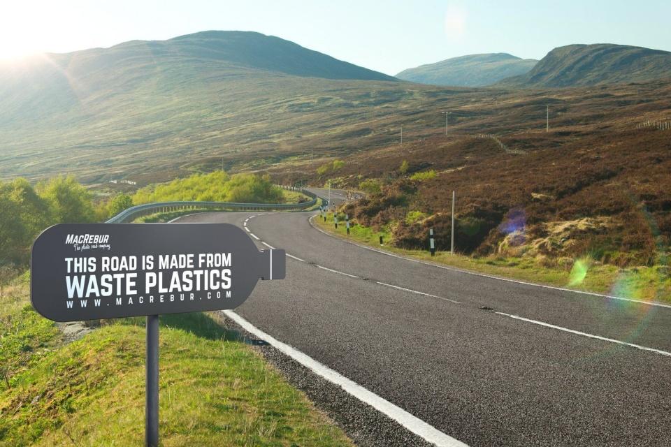 Empresa transforma plástico em asfalto 3x mais resistente
