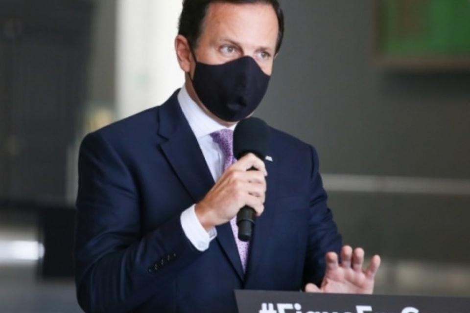 Doria afirma vacina contra covid-19 será obrigatória