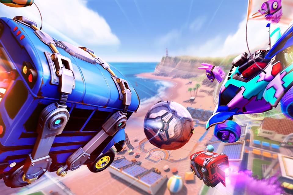 Rocket League terá evento com Fortnite a partir de sábado (26)