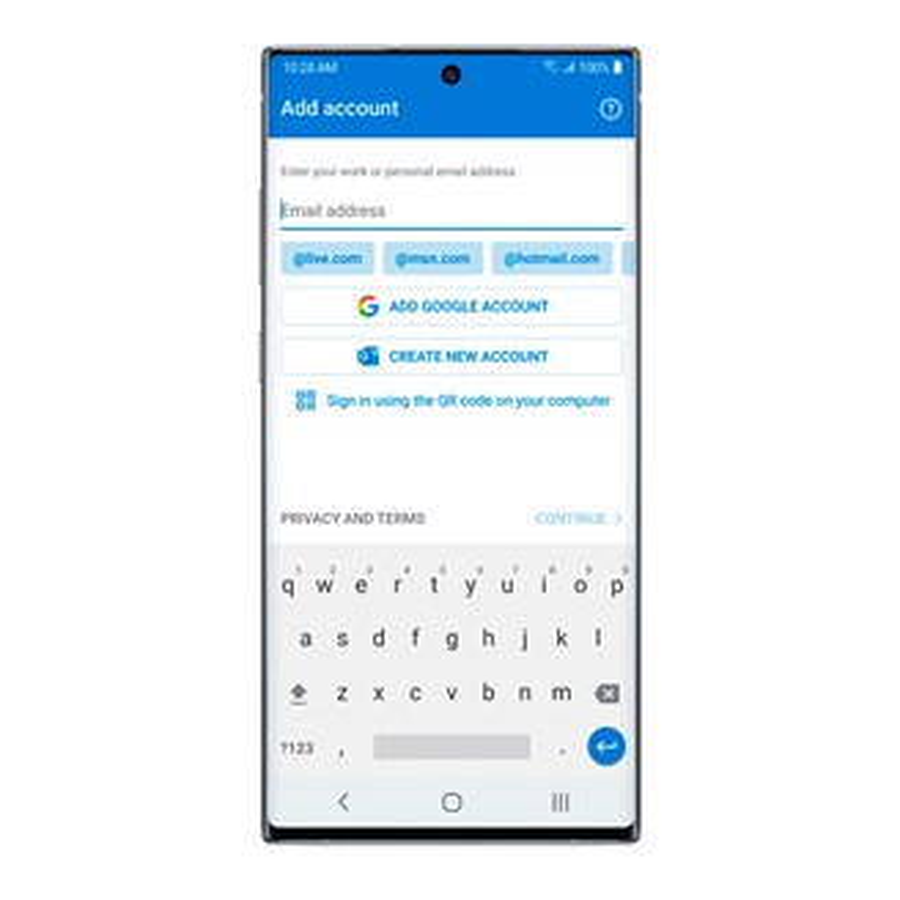 A Microsoft vai facilitar o login no Outlook para celular