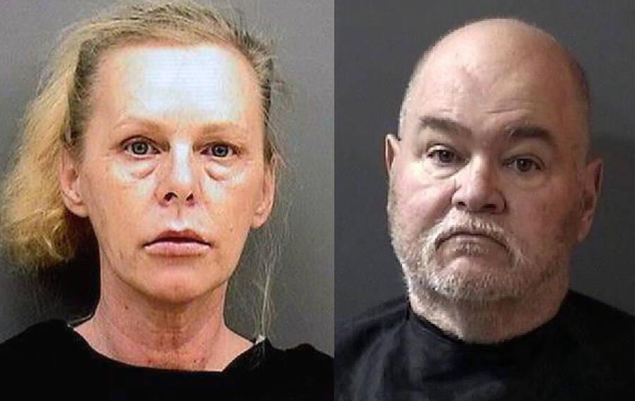 Katrina Fouts e seu amigo Terry foram presos pelo crime, delatados pelo histórico do Google (Fonte: All That's Interesting/Reprodução)