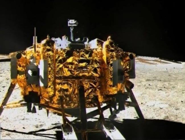 A Chang'e 3 chegou à Lua em 2013.