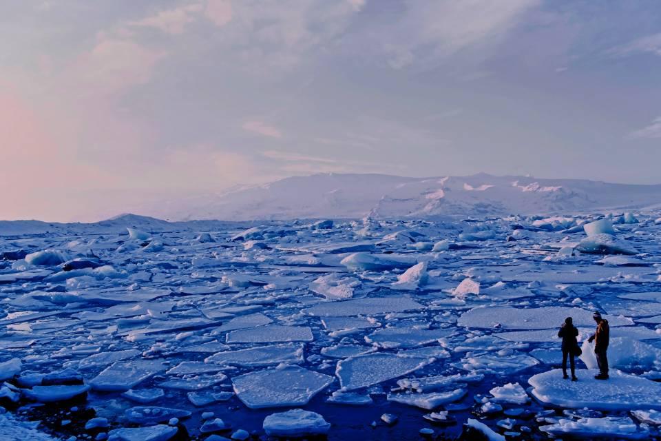 Cientista quer usar 'vidro' para frear derretimento do gelo do Ártico
