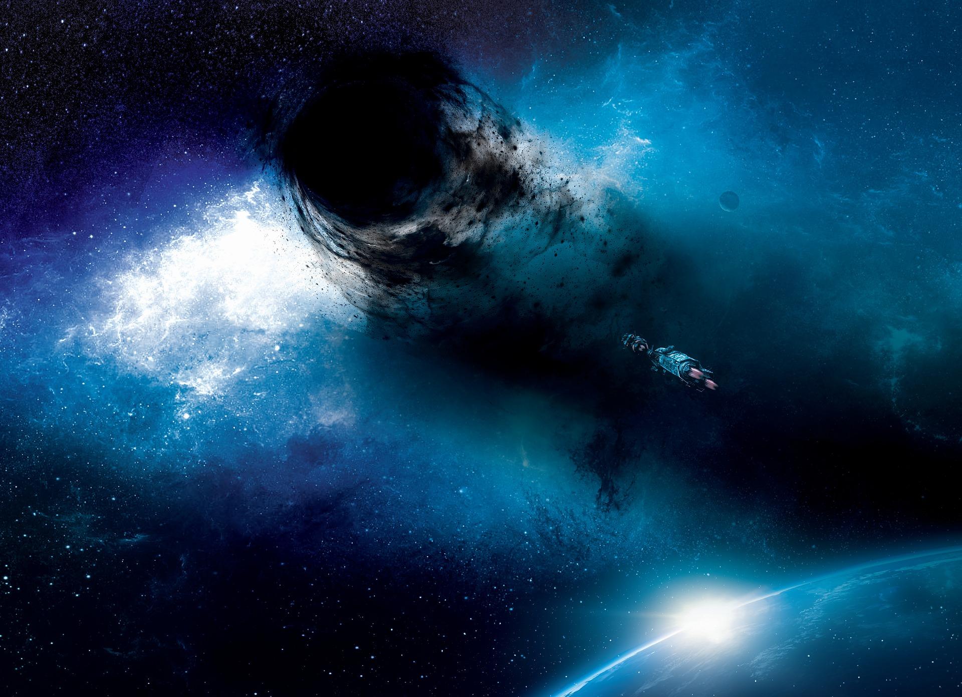 Buracos de minhoca permitiriam viagens no tempo e no espaço.