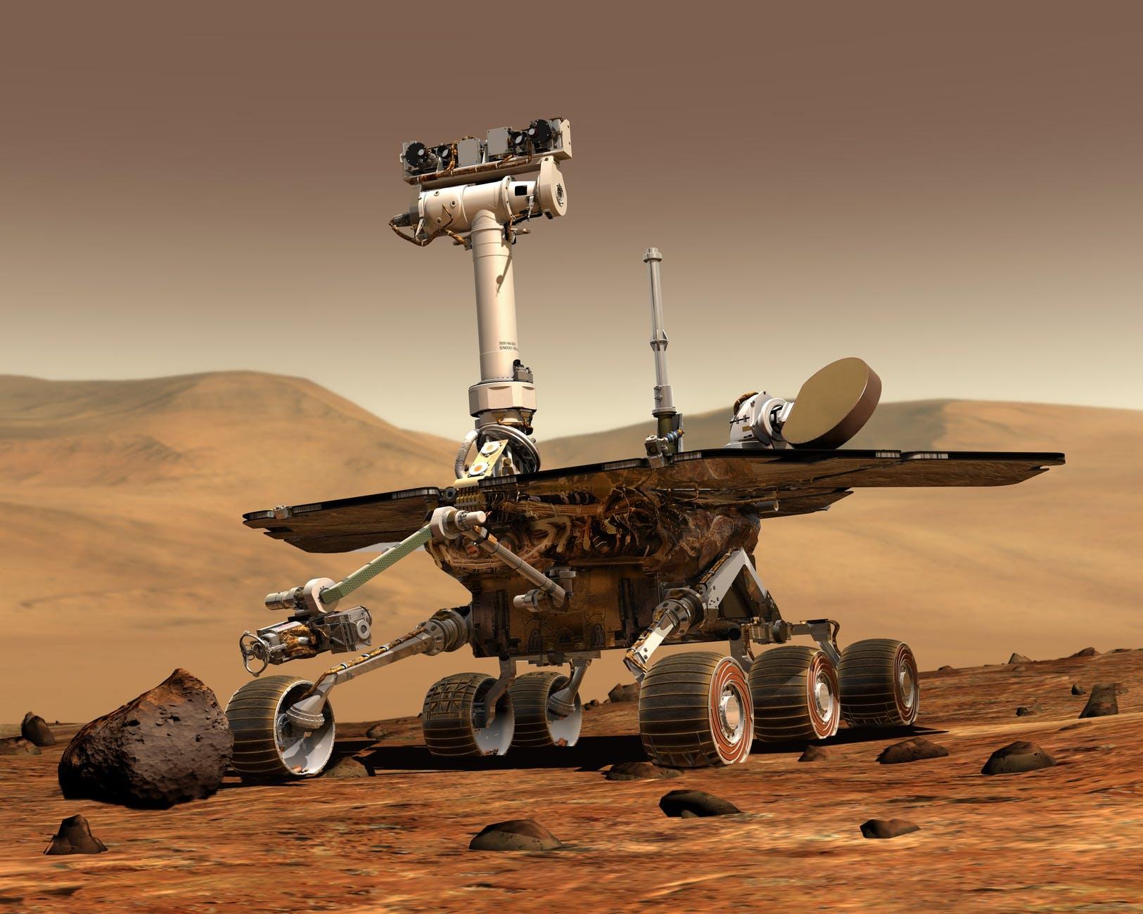 Rover Spirit em Marte. (Fonte: Nasa, Pexels / Reprodução)
