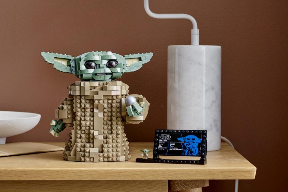Bebê Yoda ganha versão especial em LEGO