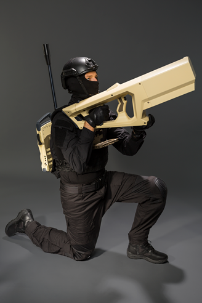 Divulgação da arma pela empresa. (Fonte: Cerbair via Drone DJ / Reprodução)