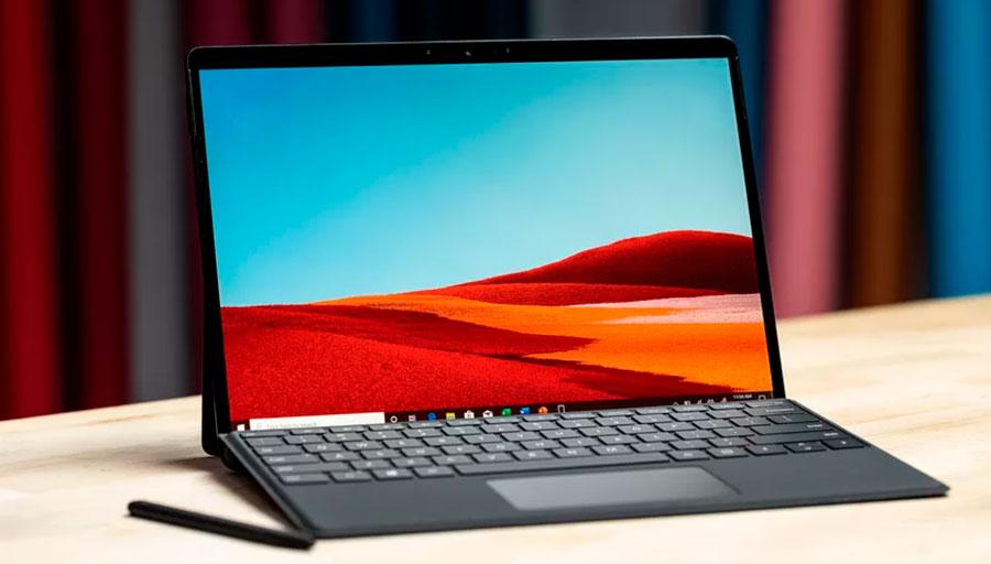 Surface Pro X é um dos dispositivos que roda Windows 10 para ARM