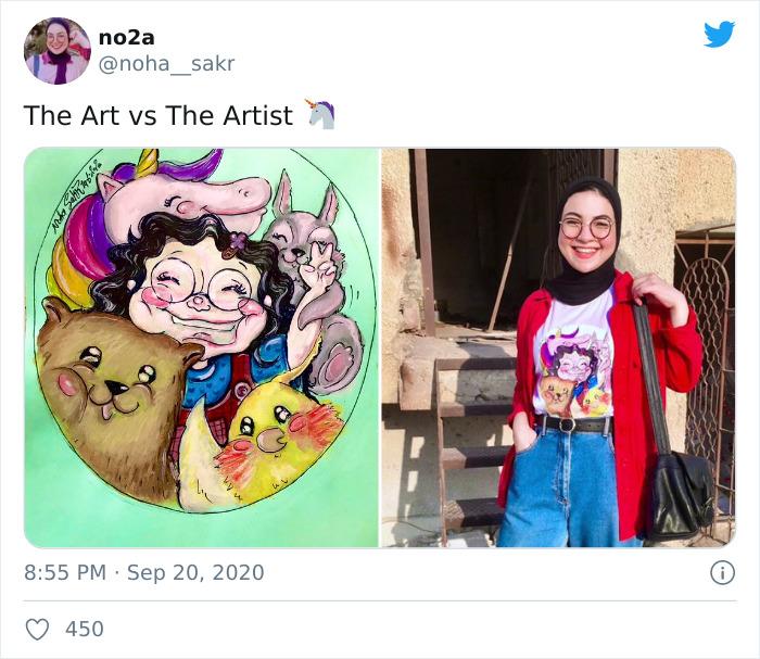 Fonte: @noha__sakr (Reprodução / Twitter)