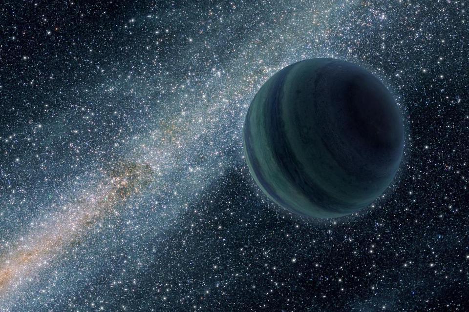 Planeta do tamanho da Terra vaga pelo espaço sem uma estrela