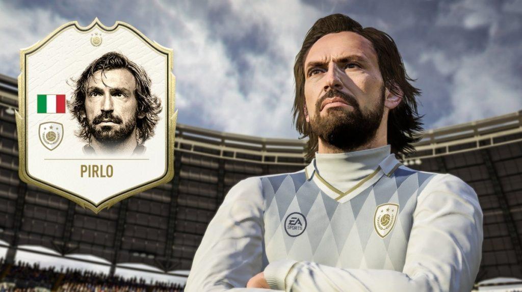 Você pode, por exemplo, conseguir uma carta especial do Pirlo. (Fonte: EA Sports/Reprodução)