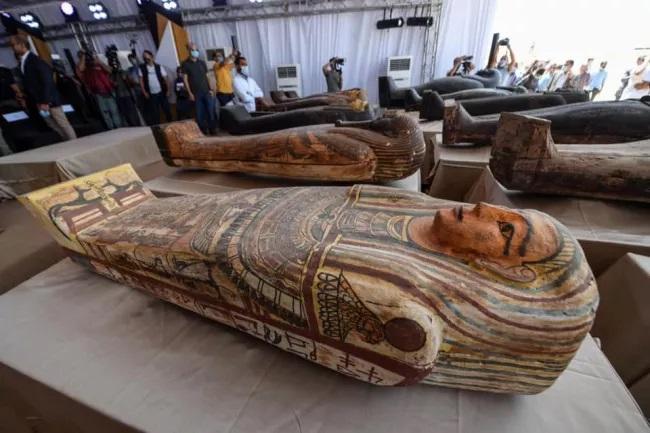 (Fonte: Ministério Egípcio de Antiguidades/Reprodução)