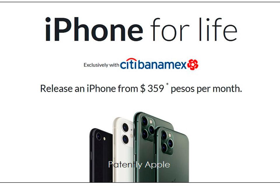 A patente dará mais controle da marca iPhone para a Apple