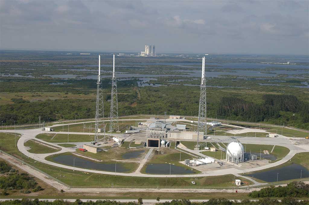 41º Complexo de Lançamento no Cabo Canaveral, na Flórida, Estados Unidos. (Fonte: NASA / Divulgação)