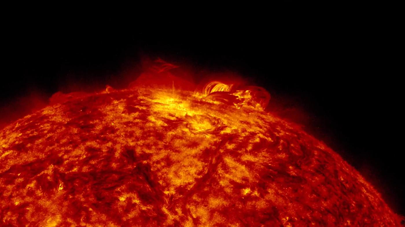 Superfície do Sol pode chegar a milhões de graus.