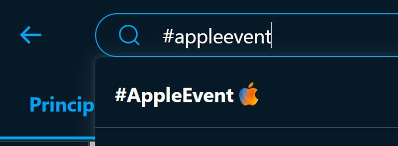 A hashtag especial da Apple está disponível por tempo limitado